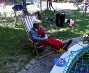 Pit in Aktion im Wichernhaus in Neckarau - Foto: privat
