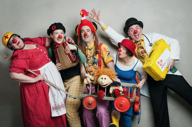 Clownswensemble - Foto © Susanne Lencinas